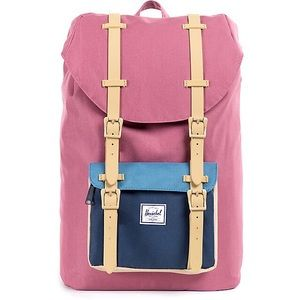 Herschel Little America Blush & Navy Backpack